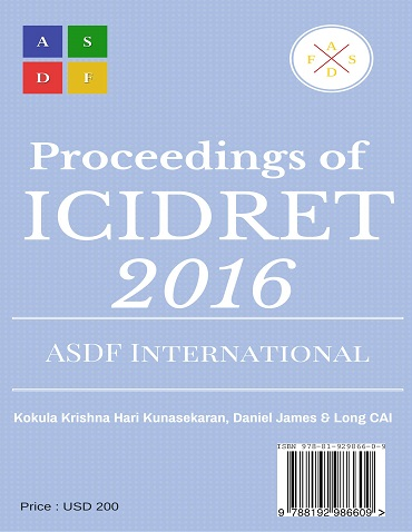 ICIDRET 2016CoverPage
