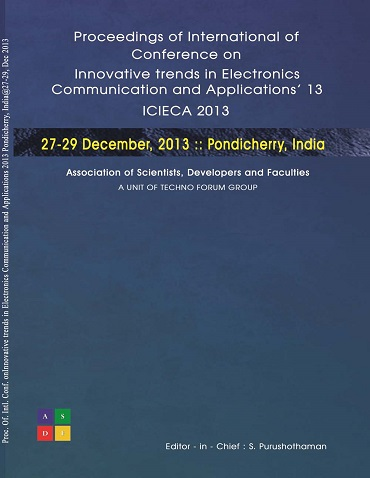 ICIECA 2013 CoverPage