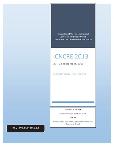 ICNCRE 2013 CoverPage